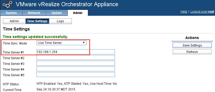 vrealize orchestrator 6.0.3